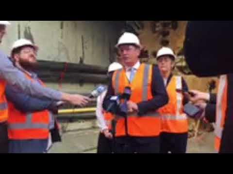 Forrestfield-Airport Rail Link Tunnel Boring Machines reach Airport