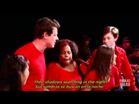 Glee: Don't stop believin' subtitulada en Ingles/Español