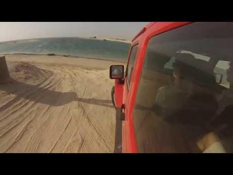 jeep wrangler un ferragosto ad Abu Dhabi