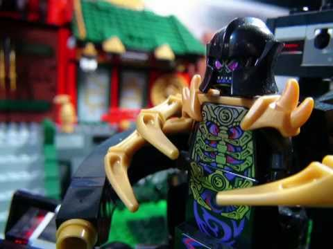 LEGO NINJAGO THE MOVIE PART 10 THE FINAL BATTLE 100th STOP MOTION
