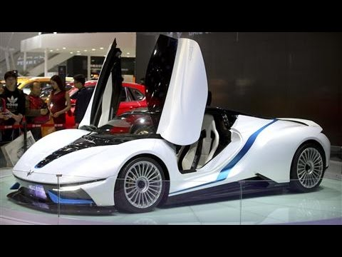 Beijing Auto Show Debuts Latest Electric Vehicles