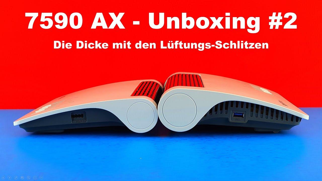 AVM FRITZBox 200 AX   Unboxing 20   Die Dicke mit den Lüftungs Schlitzen    Vergleich zur 200 AC+N