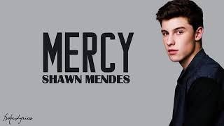 Shawn Mendes ~ mercy (lyrics)