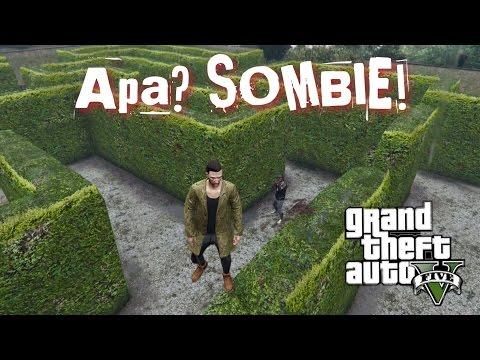 APA? SOMBIE!!! - GTA 5 Online (Bahasa Malaysia)