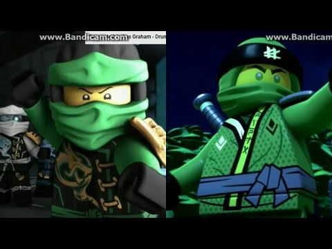 Ninjago season 8 sons of garmadon old lloyd vs new lloyd youtube - Ninjago vs ninjago ...