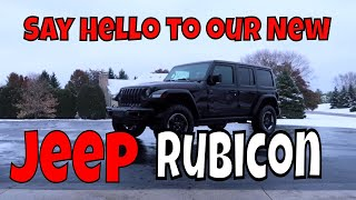 Just bought a 2018 Jeep Rubicon