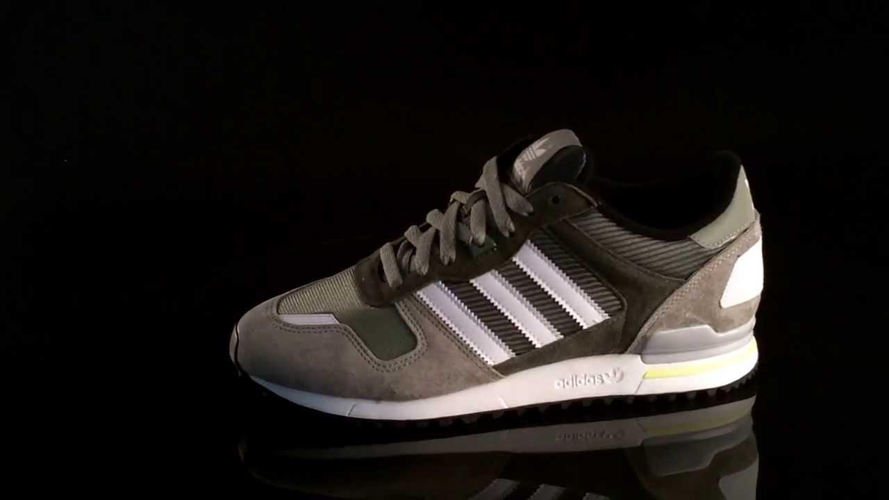 eb84cb6040cc8 Adidas ZX 700 sneakers STTEGR Runwhite D65645 - YouTube