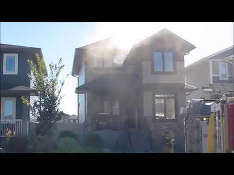 Working House Fire In Regina,Sask
