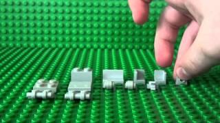 How To Build A Lego Golf Bag