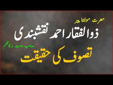 Tasawwuf Ki Haqeeqat-*Peer Zulfiqar Ahmad Naqshbandi (D.B)