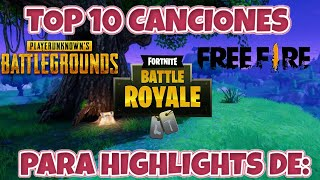 TOP 10 SONGS FOR FORTNITE HIGHLIGHTS, FREE FIRE, PUGB #1