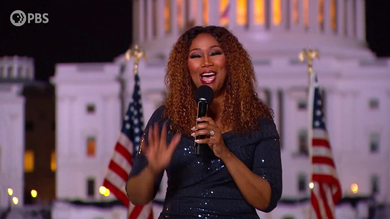 """Yolanda Adams Performs """"What the World Needs Now"""" on the 2020 A Capitol Fourth"""