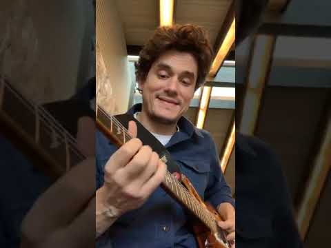John Mayer Practicing Dead And Company Songs On The Guitar
