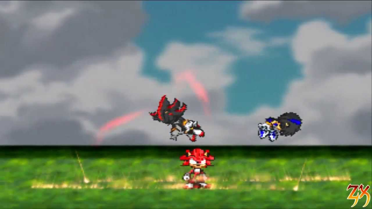 Sonic advance z episode 5 preview 2 shadow vs dark - Jeux de sonic vs shadow ...