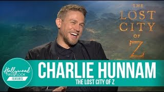 Charlie Hunnam talks Lost City of Z, King Arthur & Sons of Anarchy (2017)