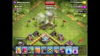 Clash of Clans: Revenge, high loot, defense vs lvl 6 balloons,...