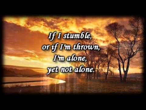 Alone Yet Not alone _ Joni Eareckson Tada - Worship Video with lyrics