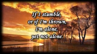 Alone Yet Not alone _ Joni Eareckson Tada - Worship Video with lyrics thumbnail