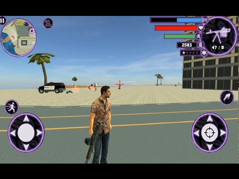 ► Miami Crime Simulator 2 (Naxeex LLC) Android Game Play HD By games hole  Part-1