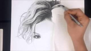 Desenho Realista - Beni Daniels by Samuel Saito