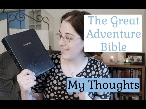 Great Adventure Bible - My Thoughts & Flip Through