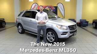 the new 2015 mercedes benz ml350 m class minneapolis minnetonka bloomington mn walk around