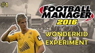Kristoffer Ajer on Football Manager 2016 | Part 1 | FM16 Wonderkid Experiment