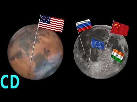 Mars or the Moon - Where do NASA manned missions go next?