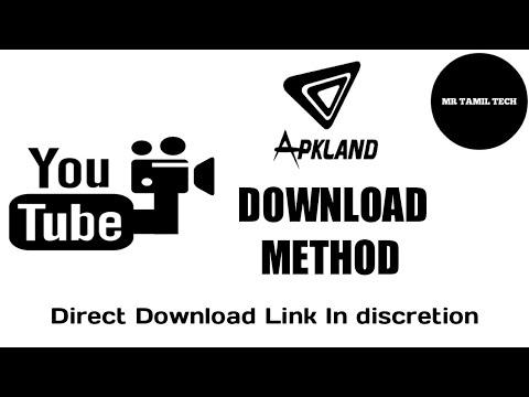 Apk land TV download method!!? - YouTube