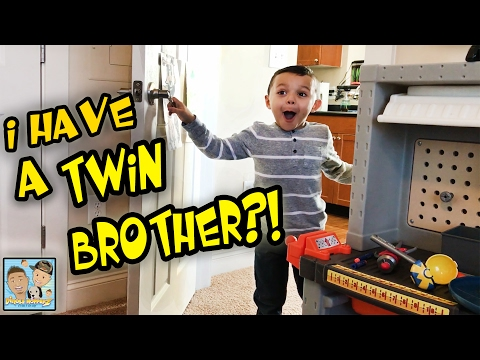 LOST TWIN BROTHER FOUND! BOY GETS HUGE SURPRISE! BONUS VIDEO ! NASTY MILK CHUG CHALLENGE! VLOG