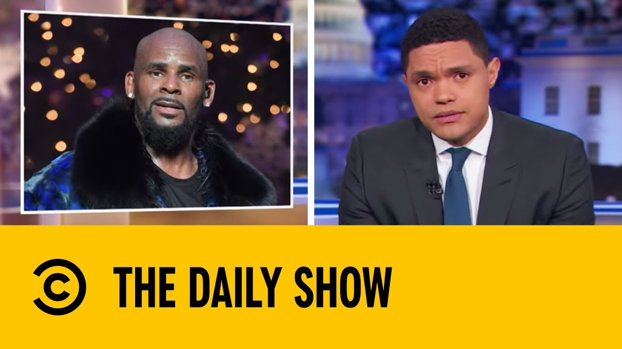 R. Kelly's Strange Streaming Spike | The Daily Show With ...  R. Kelly's ...
