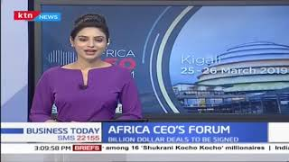 Billion dollar deals to be signed at Africa CEO'S FORUM held in Rwanda