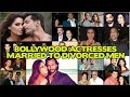 15 Bollywood Actresses MARRIED TO DIVORCED MEN