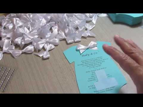 Accucut onsie tiffany co baby shower invites youtube baby shower invites youtube solutioingenieria Gallery