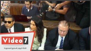 بالفيديو.. وصول المحامية الدولية أمل كلونى جلسة النطق بالحكم فى خلية الماريوت