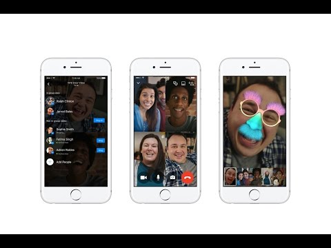 Facebook Messenger Launches Group Video Chat. Breaking!!