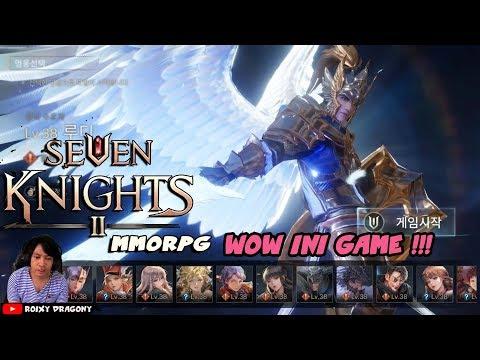 😱 Keren Kamveng !!! Upcoming  - SEVEN KNIGHTS II (MMORPG) Gameplay Demo G-STAR 2018 (reaction)