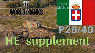 P26 40 HE supplement review World of Tanks