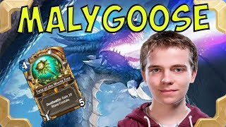 Thijs is playing Malygos druid high in Legend (The Witchwood)