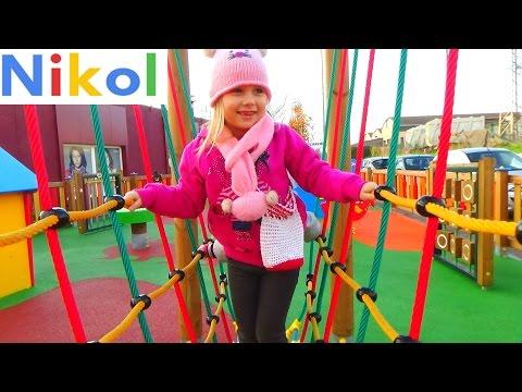 vlog Новая Детская площадка  прогулка по КОПу и Борго Сан Лоренцо New Children playground