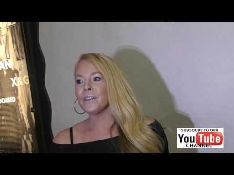 Tami Erin talks Babes In Toyland outside Avalon Nightclub in Hollywood