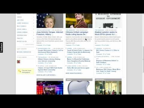Screencast Tour of NewsCred.com