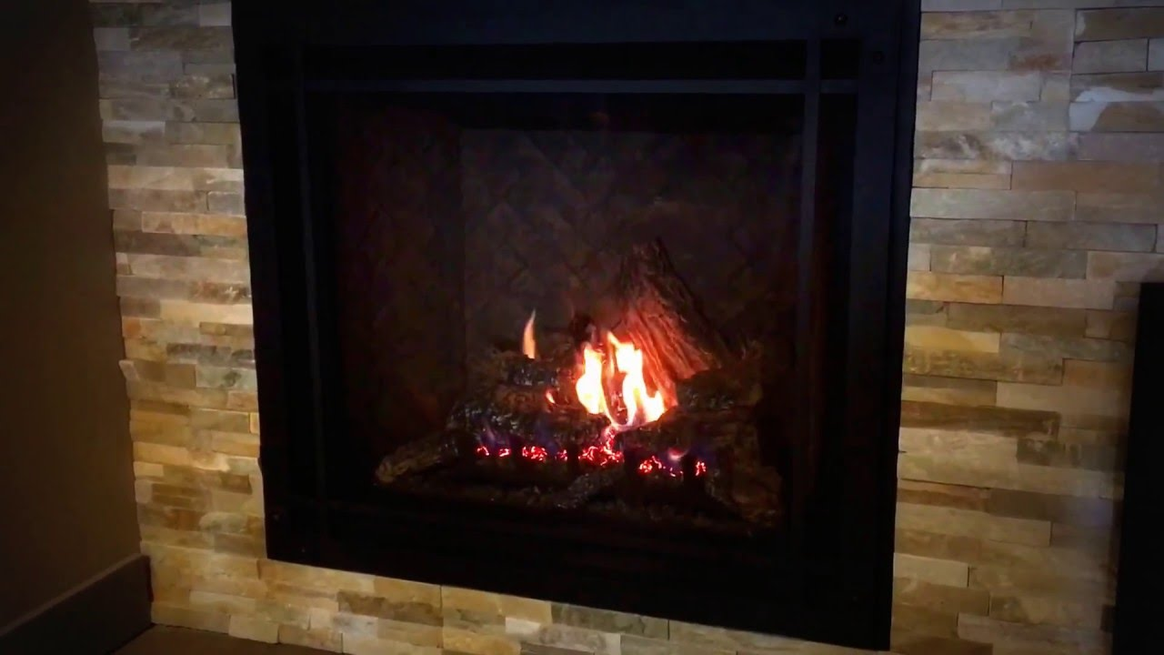 marquis bentley gas fireplace with 9 piece log set available at