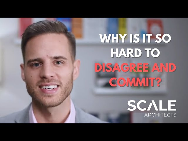 Why is it so hard to Disagree AND Commit?