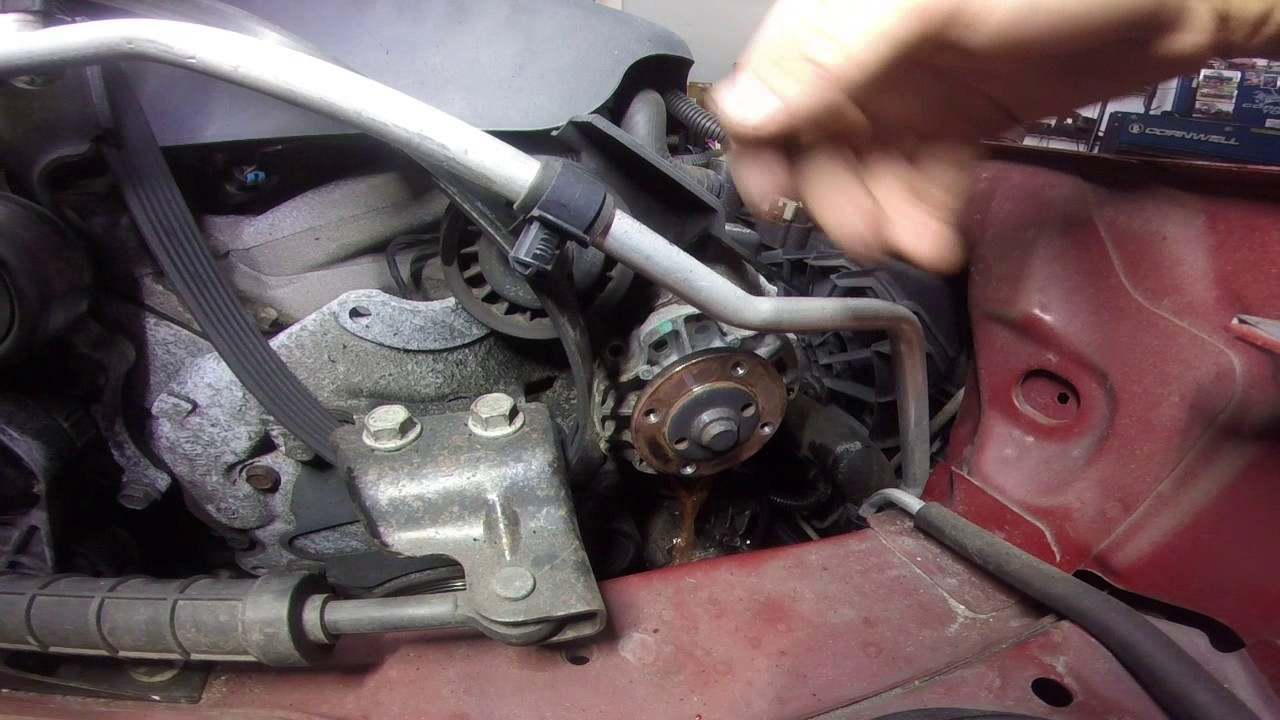 Pontiac G6 Waterpump Replacement Youtube 2002 3 4 Engine Cooling Diagram