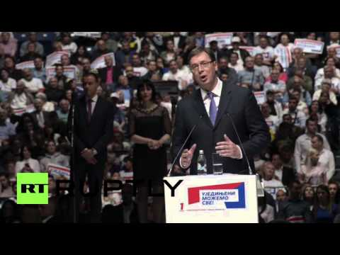 Serbia: Modern Serbia 'does not lose the game' - Vucic before elections