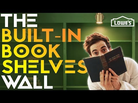 THE BUILT-IN BOOKSHELVES WALL /// Experiment #004