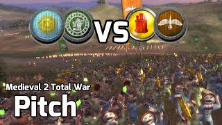 Medieval 2 Total War Online Battles #245 (2v2) - Spanish Aggression