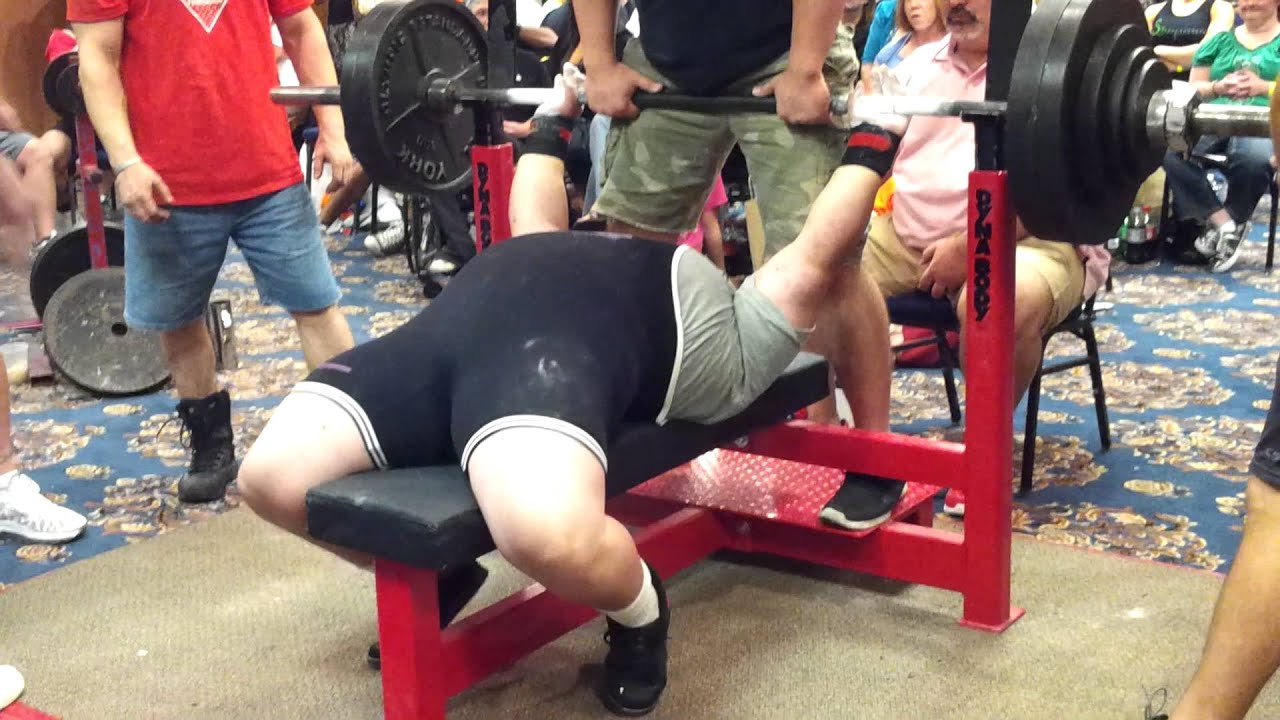 Record Bench Part - 35: April Mathis 430lb Raw Bench Press New All Time World Record 2012 SPF  Pro/Am Cincinnati - YouTube