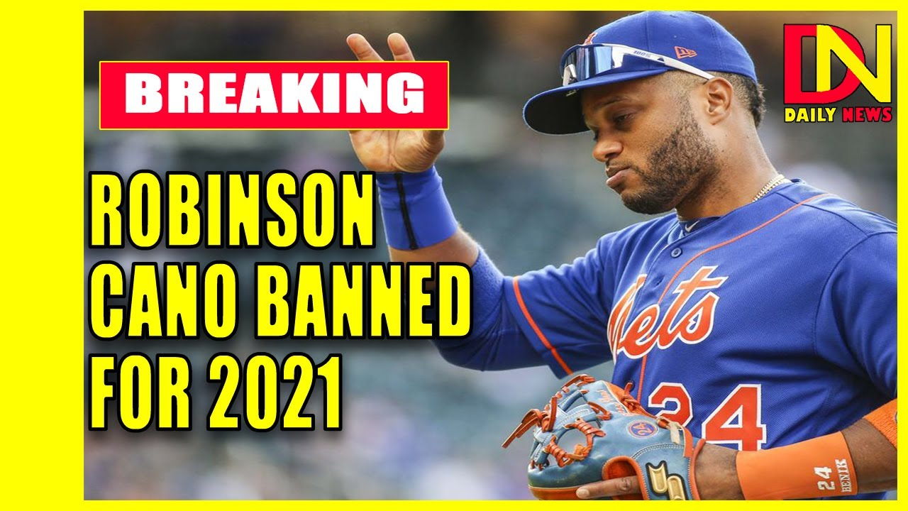 Robinson Cano Banned for 162 Games After Positive P.E.D. Test